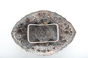 Antique Chinese Silver Belt Buckle (pending /pinding), Chinese Straits – Circa 1900
