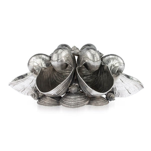 Nautilus Shell Sterling Silver Centrepiece, Buccellati, Italy – Mid 20th Century