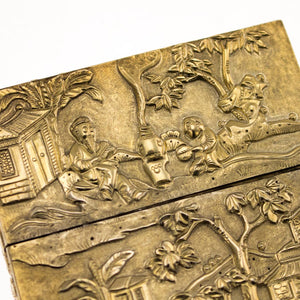 Antique Chinese Silver-gilt Card Case, China – Late 19th Century