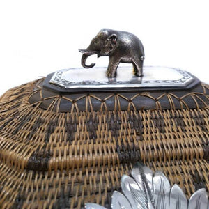 Sri Lankan Antique Figural Elephant