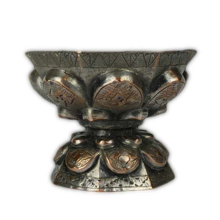 Antique Malay Silver Cup, Malaysia – 19th Century