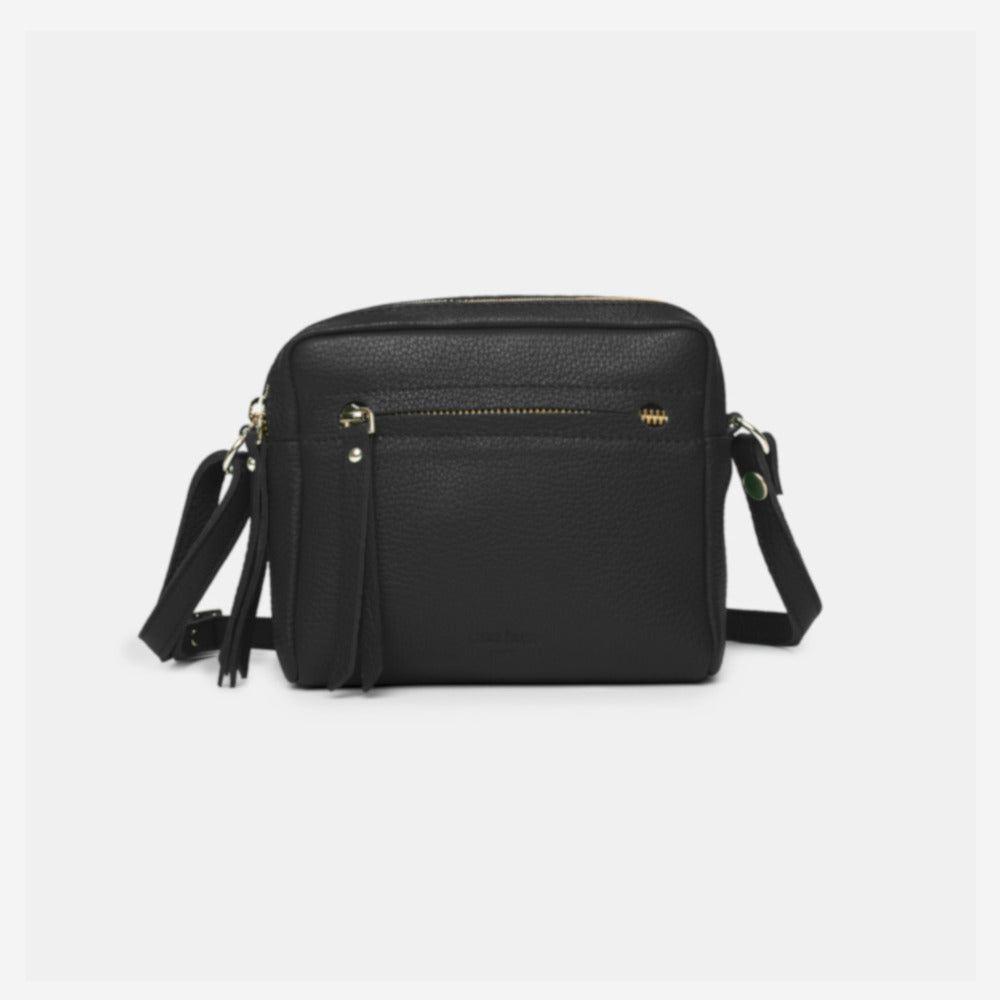 Cubo Mini Bag Grained Black - ann kurz