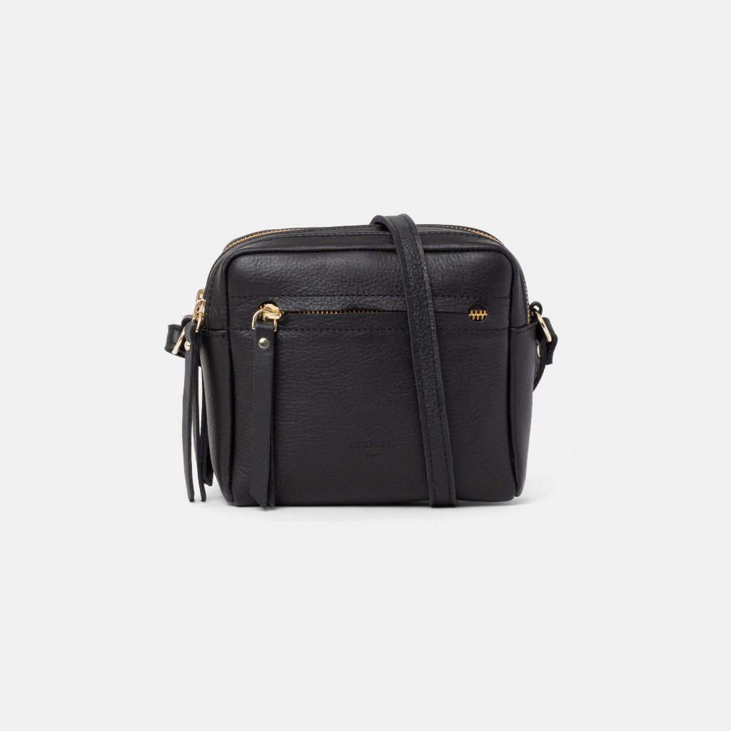 Cubo Mini Bag Nappa Black