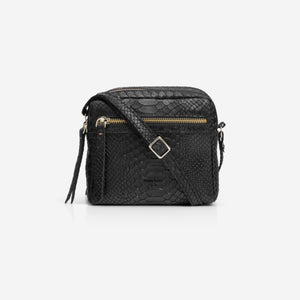 Cubo Mini Bag Snake Black