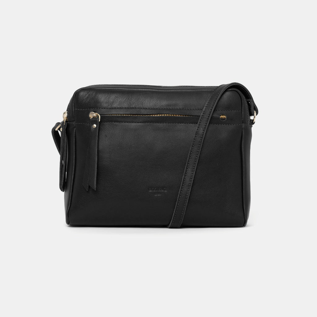 Cubo Nappa Black Shoulder Bag