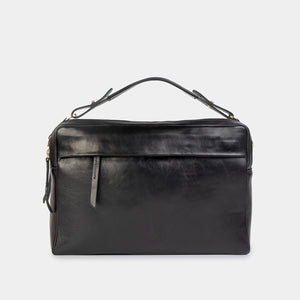 Marie Nappa Black Laptop Bag