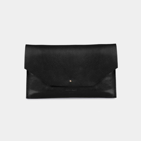 Envelope Nappa Black Purse