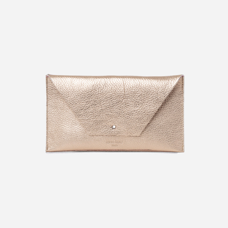 Mia Mini Metallic Rosè Wallet - ann kurz