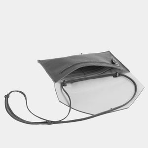 Mia Envelope Grained Black Phone Purse - ann kurz