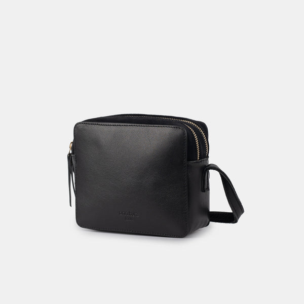 Nadine Mini Black Mix Shoulder Bag