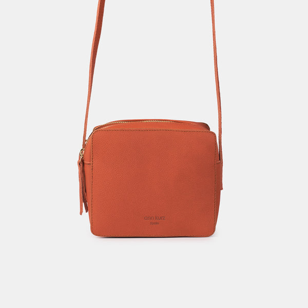 Nadine Mini Western Apple Red Shoulder Bag