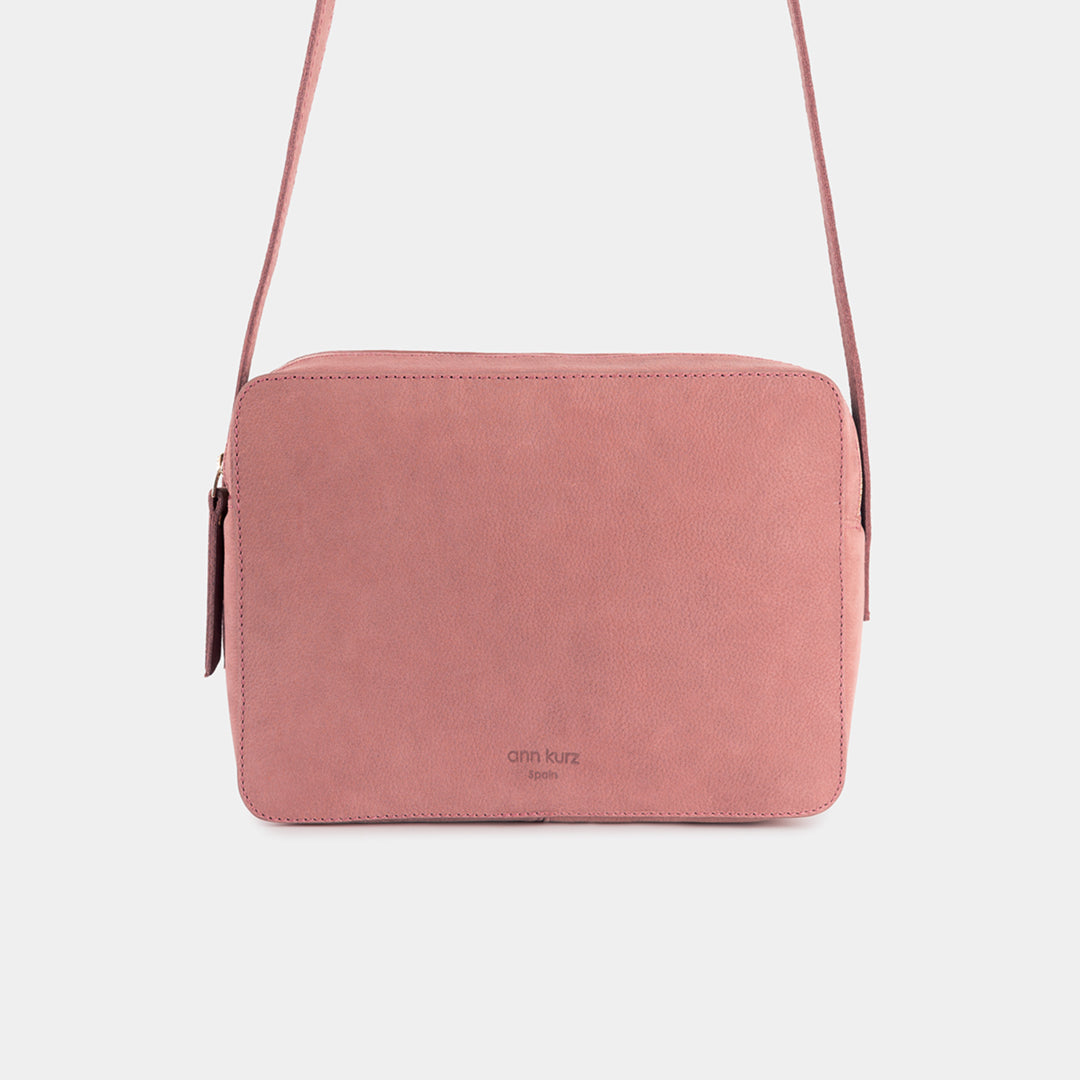 Nadine Old Rose Shoulder Bag - ann kurz