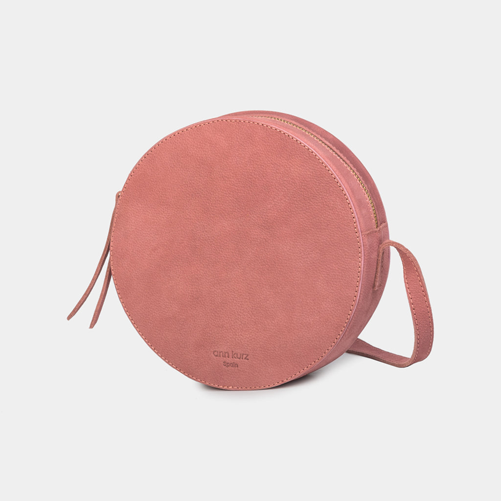 Pia Old Rose Circle Bag - ann kurz