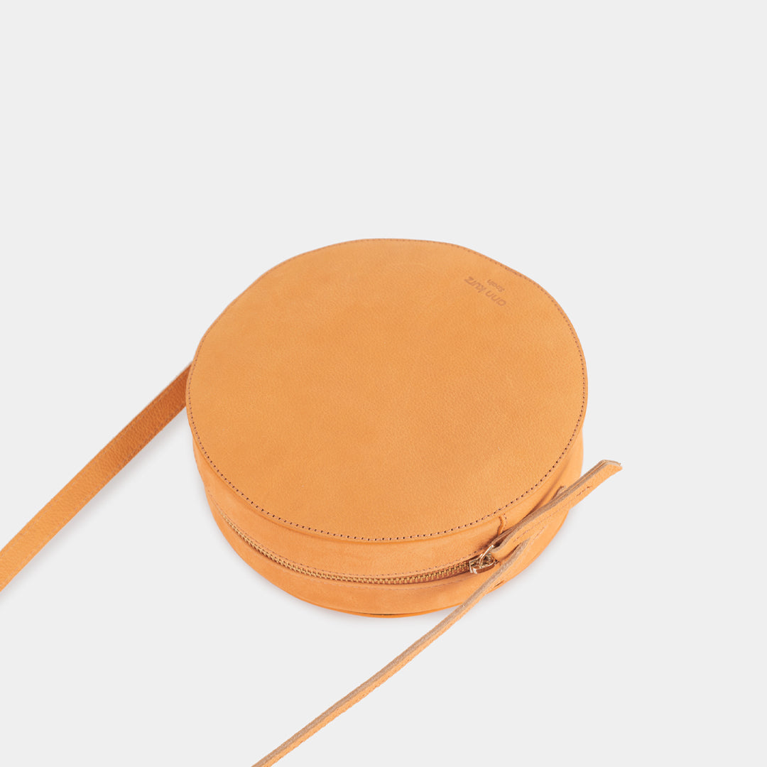 Pia Old Orange Circle Bag - ann kurz