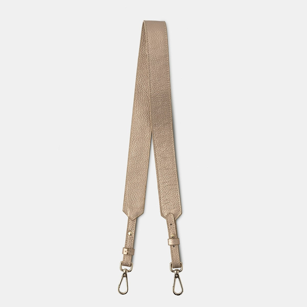 Shoulder Strap Grain Metallic