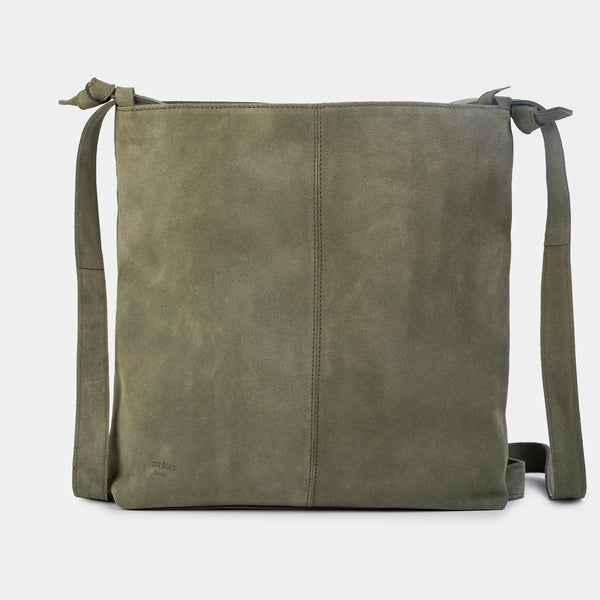 Tine Suede Pine Convertible Bag