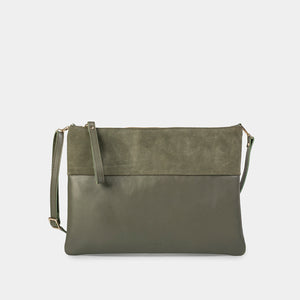 Trapezo Pine Mix Shoulder Bag