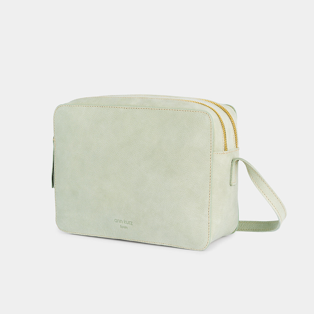 Nadine Mint Shoulder Bag - ann kurz