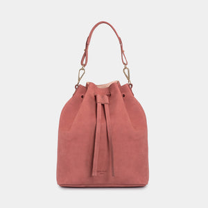 Saku Western Old Rose Bucket Bag