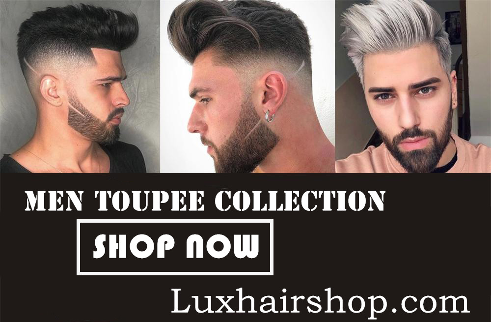 How to clean and wear Men Toupee?