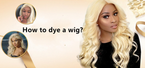 How to dye wigs?