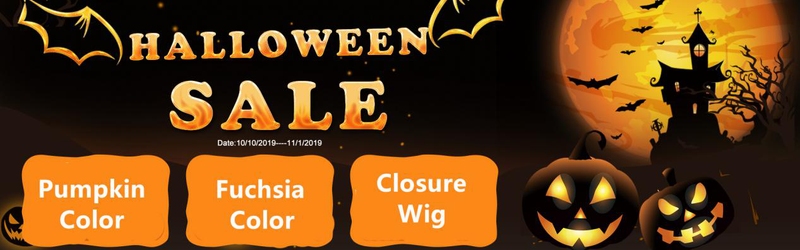 What kind of wig would you choose for Halloween?