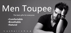 Men toupee - Helps You add Charms