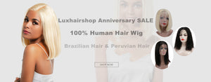 Luxhairshop are celebrating Anniversary SALE