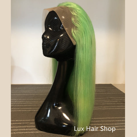 green wig