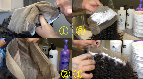 bleached knots tips