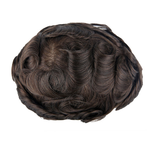 European Virgin Human Hair Hollywood.W Base Man Toupee