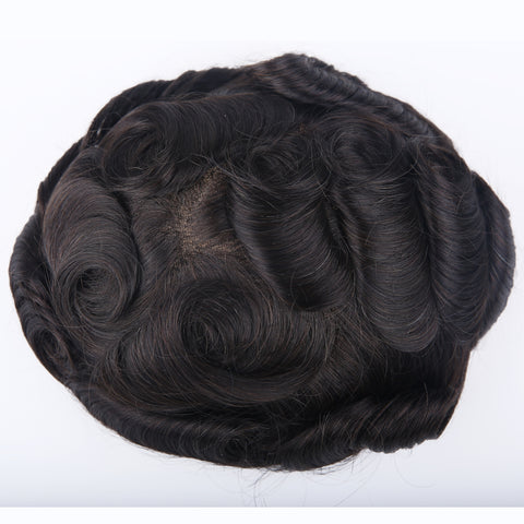 European Virgin Human Hair Australia Base Man Toupee