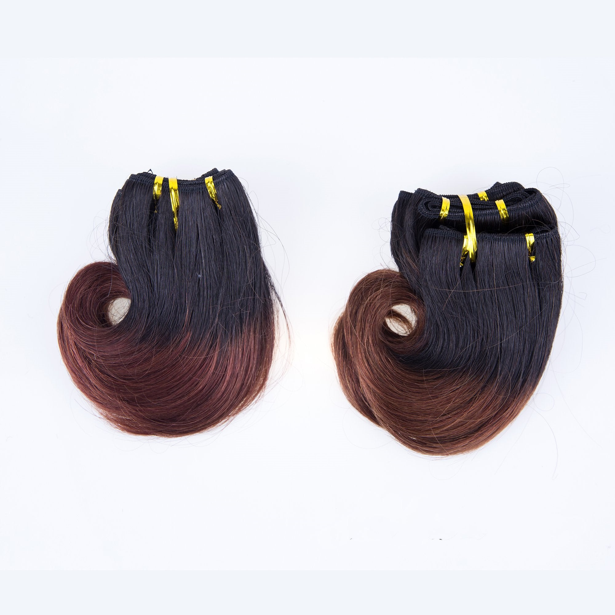 Peruvian Human Tara Hair Short Weft Wave Bundles
