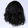 Image of Peruvian Hair Natural Color Lace Front Wig Slight Wavy