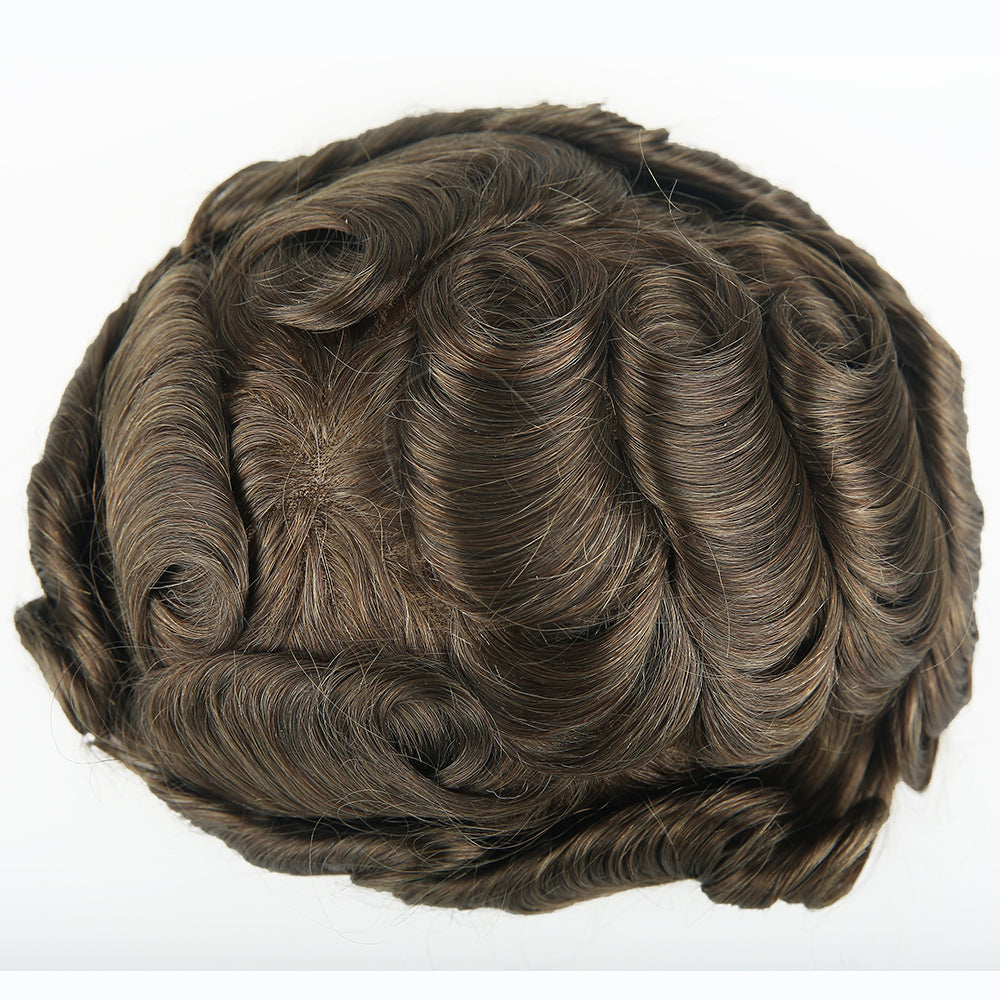 European Virgin Human Hair GM2 Base Man Toupee