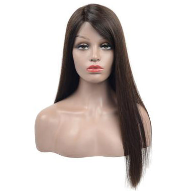 Peruvian Human Hair Full Lace Wig Long Straight