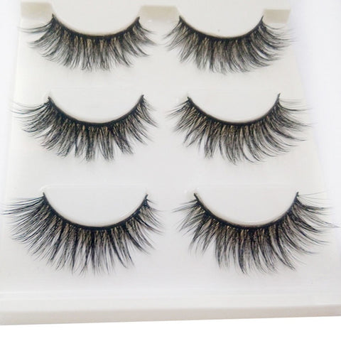 Beautiful Faux Mink Lashes Cruelty-Free