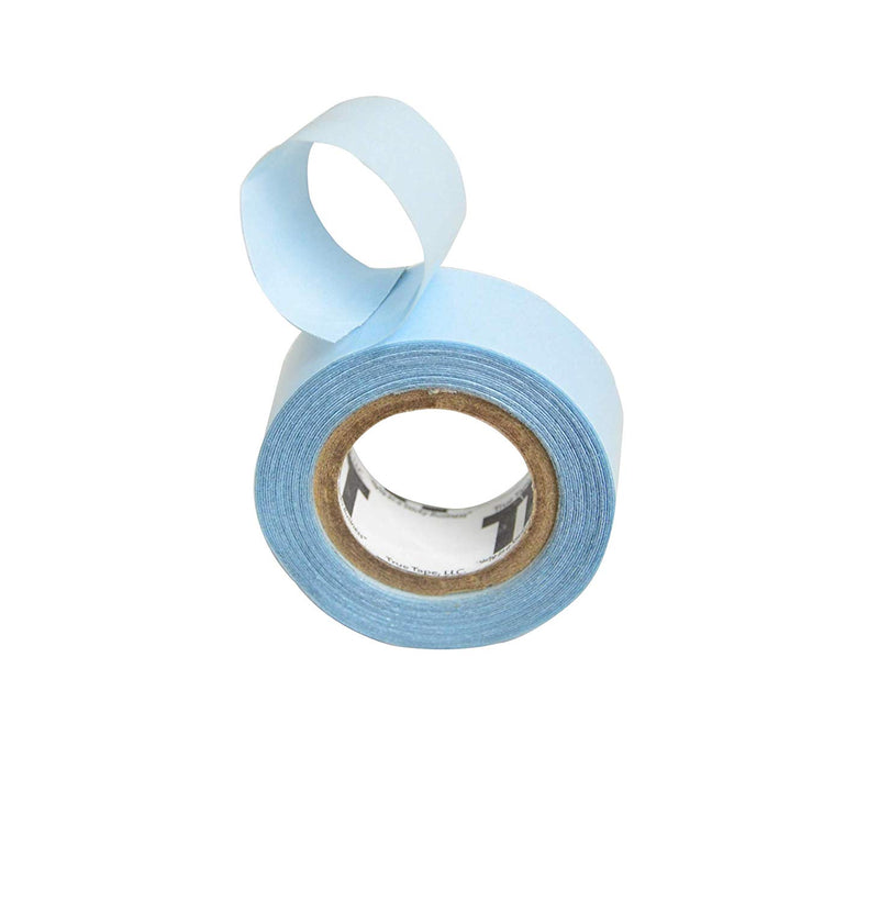 Lace Front Support Tape Roll Double Sided Blue Liner Hair