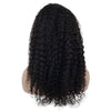 Image of Brazilian Hair Black Color Curly 18 Inch Fashion 360 Lace Frontal Wigs