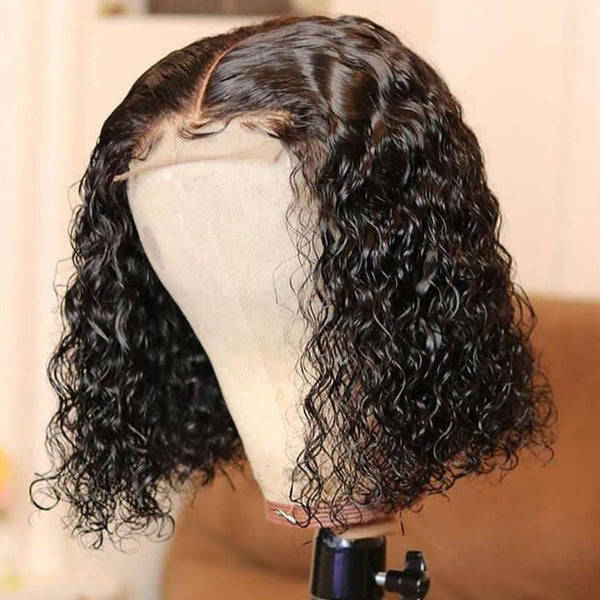 closure wig curly
