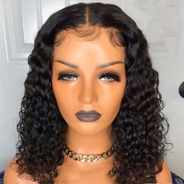 black wig closure