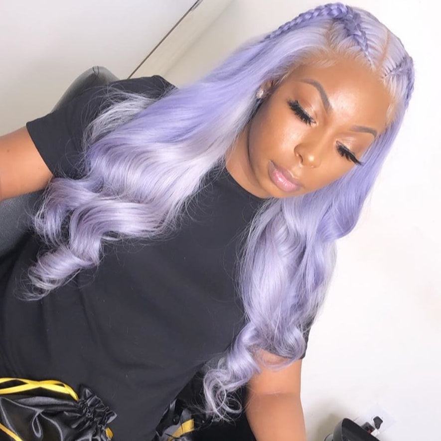 Violet Purple body wave