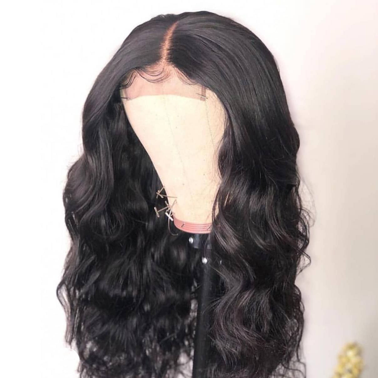 200% Closure Natural Wig