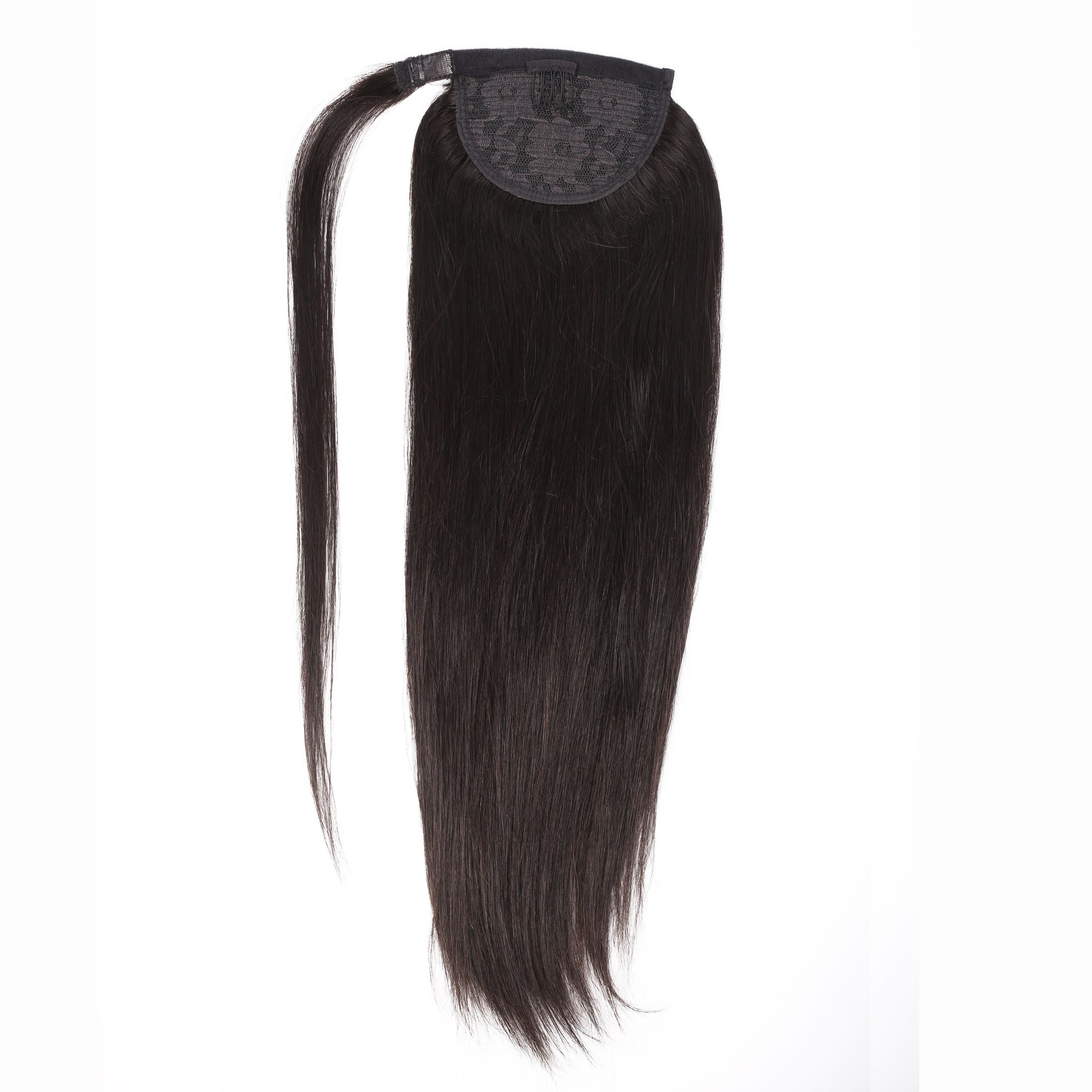 black pony Tail human hair