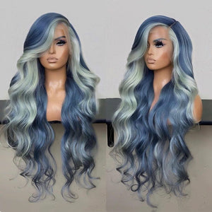 highlights body wave wig