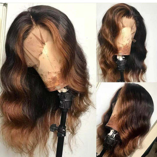 Brazilian hair- Lace Front Wig