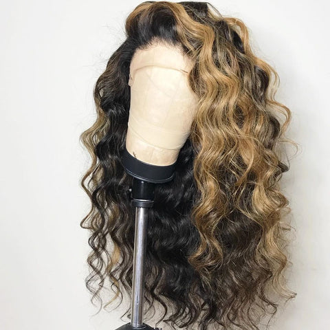 fashion ombre color wig
