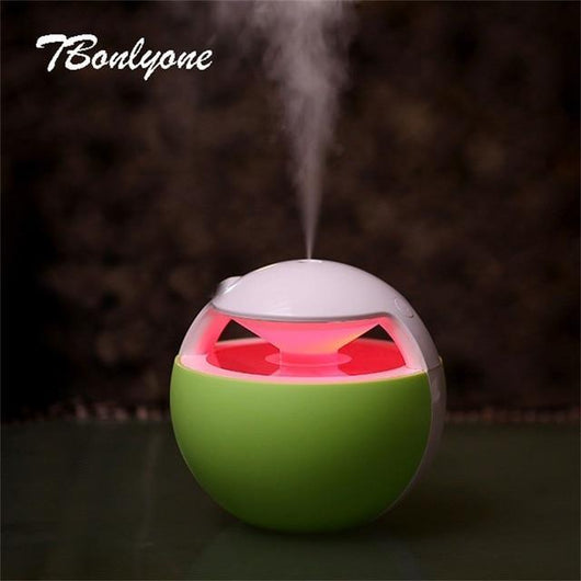 Air Humidifier Oil Diffuser Aromatherapy Lamp 450ml Air Humidifier BANFIY USA green