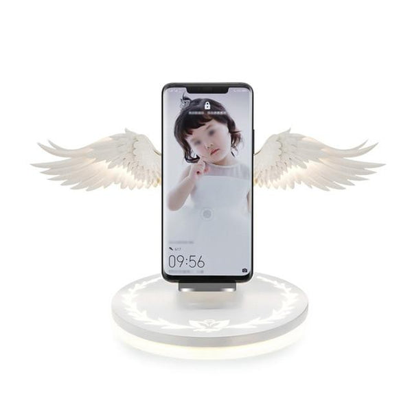 Angel Wings Wireless Charger Mobile Phone Accessories BANFIY USA Default Title