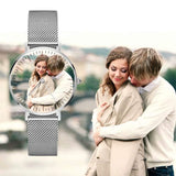 Couple Photo Watch customizez Wristwatches for couple Photo watch BANFIY USA